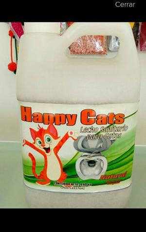 Arena Para Gatos Happy Cats