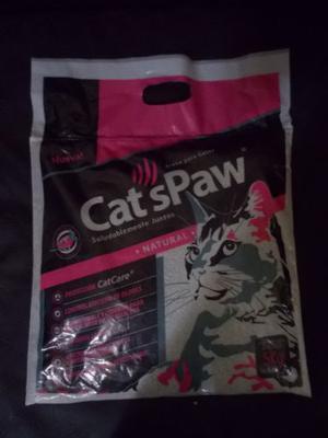 Arena Sanitaria Para Gatos Cats Paw 5 Kilos