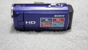 Camara Sony Hd Digital Modelo Hdrcx220e Color Azul