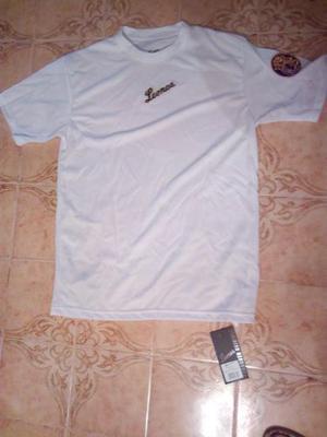 Camisa Leones Del Caracas Blanca Para Caballero