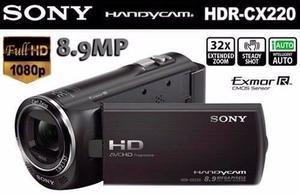 Cámara De Video Sony Handycam Full Hd , Zoomóptico 32x