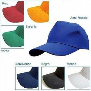 Gorras Para Bordar Unicolor