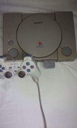 Playstation 1 Con Un Control Y Memory Card