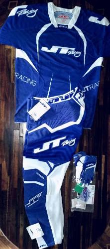 Uniforme Jt Racing Motocross-enduro Talla Pant:34 Jersey: L