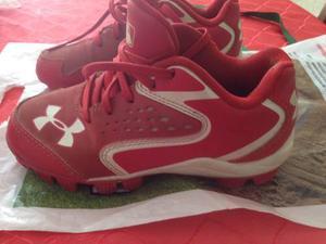 Zapatos De Béisbol Under Armour Originales Usados