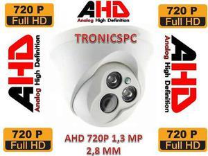 Camara Seguridad Domo Ahd 720p 1.3 Mp 2 Led Array 2.8 Mm
