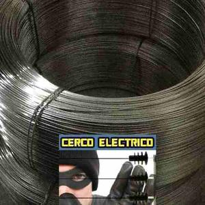 Cerco Electrico Aluminizado 100 Metros