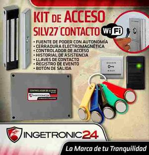 Control Acceso Total Ingetronic24 Llaves Ibutton Camwifi