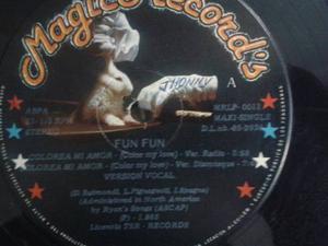 Discos Vinil Remix Nacionales Fun Fun Colorea