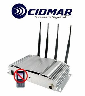Jammer Inhibidor De Señal Gsm 4 Antenas