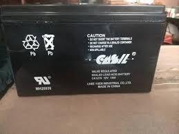Pila Bateria De 6 Voltios - 7 Amp