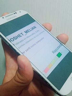 Samsung Galaxy S4 Usado En Buen Estado Solo Detalles De Uso