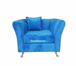 Sofa Sillon Individual Moderno Tipo Poltrona O Butaca