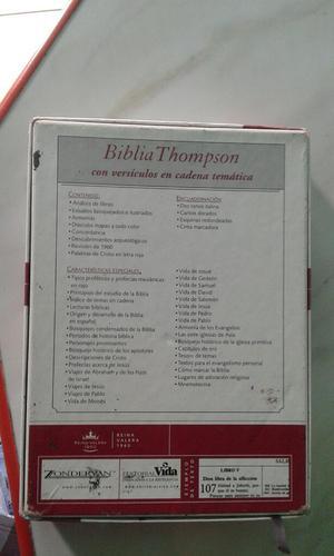 BIBLIA THOMPSON ITALIANA REINA VALERA  ORIGINAL EN CAJA