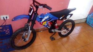 Bicicleta Tipo Moto Rin16 Usada