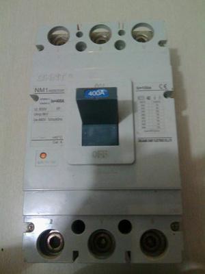 Breaker Industrial D 400 Amp