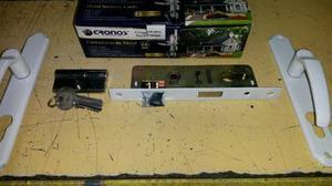 Cerradura Importada 25mm Cronos Con Cilindro Y Manillas