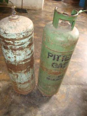 Cilindro Bombona De Gas Vacía De 27 Kilos Marca Pitter Gas