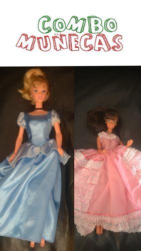 Combo De Muñecas Barbie #2
