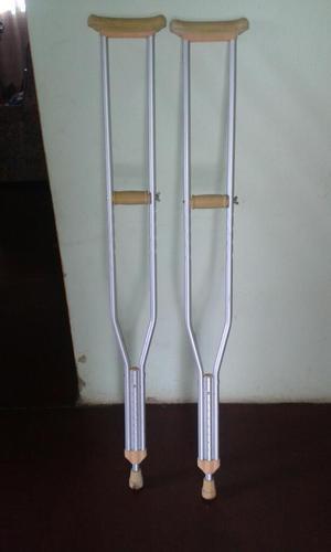 Muletas de Aluminio Ajustables