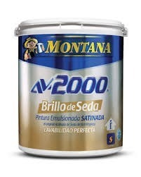 Pinturas Montana Av- Brillo De Seda Blanco