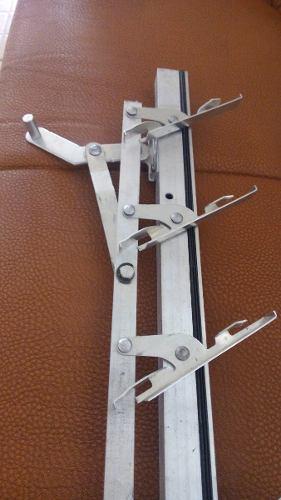 Romanillas De Aluminio Para Ventana De 50 Cm (6 Vidrios)