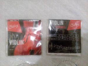 Vendo Juego De Cuerdas Para Violín
