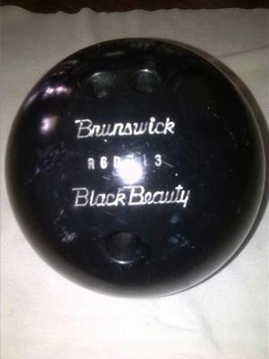 Bola De Bowling Brunswick Black Beauty 15