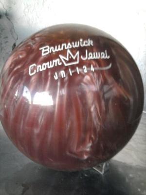 Bola De Bowling Brunswick Nueva Sin Perforar