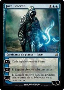 Cartas Magic The Gathering - Planeswalker - Jace Beleren
