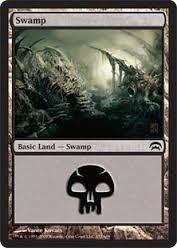 Cartas Magic The Gathering - Swamp Land