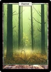 Cartas Magic The Gathering - Unhinged - Forest Land