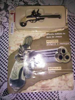 Colección De Armas Antiguas En Miniatura Con Su Reseña
