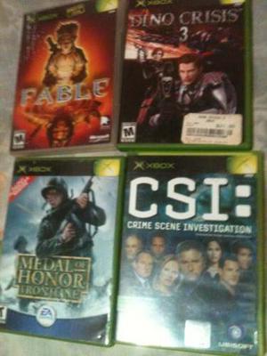 Juego Para Xbox Clásico