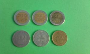 Monedas Internacionales Coleccionables