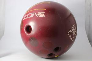 Pelota De Bowling Brunswick Zone Con Funda