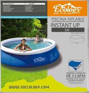 Piscina inflable marca ecology 3 x 76 posot class for Piscina 3 metros