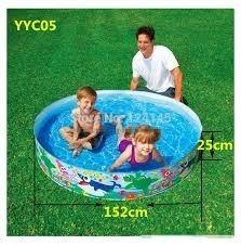 Piscina Rigida Instantanea Para Niños Intex 1.52 Mts X 25