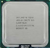 Procesador Intel Core 2 Duo Eghz fsb