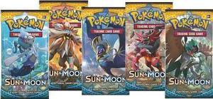 Sobre De Cartas Pokemón Sol Y Luna Tcgo