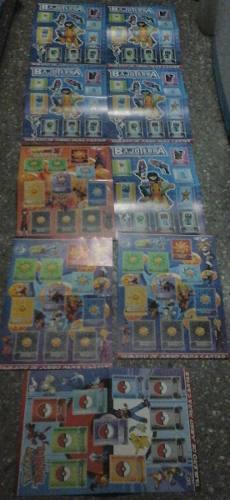 Tableros Coleccionables De Dragon Ball, Bajoterra Y Pokemon