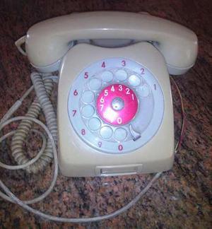 Telefono Gris De Coleccion 100% Funcional