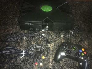 Xbox Clásico Chipeado Negociable+1 Control+5 Juegos D