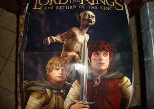 Afiche De El Señor De Los Añillos (53 Cm)