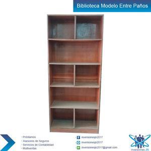 Biblioteca de Madera Mdf