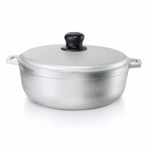 Caldero De Aluminio Con Tapa 22 Cm Flonal Para Cocina