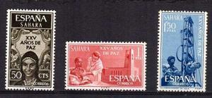 Estampillas De España. Sahara