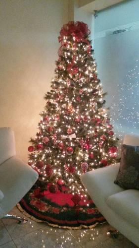 Arbolito De Navidad Con Accesorios Y  Luces