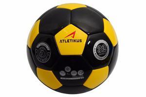 Balon De Futbol N5 Neptune Atletikus (amarillo/negro)