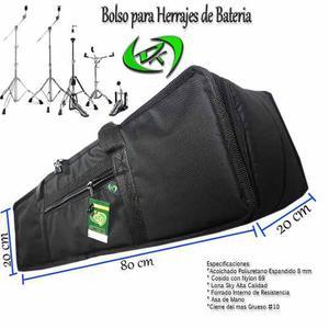 Bolso Para Parales Herrajes De Bateria Percusion Dt 80x20x20